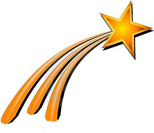 Falling Stars clipart xmas Clipart Cliparts Clipart Star Star
