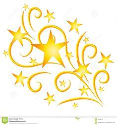 Shooting Star clipart border Vector 2926010 Art royalty Stars