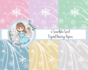 Falling Stars clipart xmas Pack A4 Stars Paper Paper