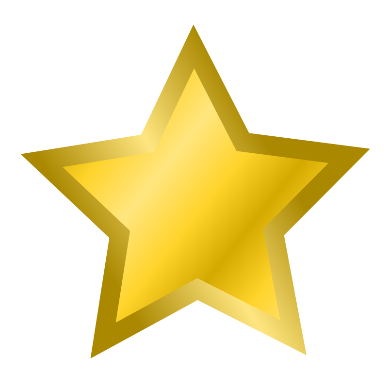 Falling Stars clipart yellow star  Star Clip Clip Stars