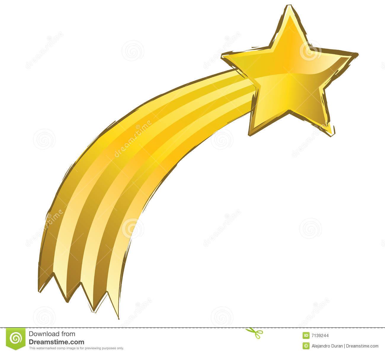Falling Stars clipart yellow star Shooting Stars Yellow Clipart Star