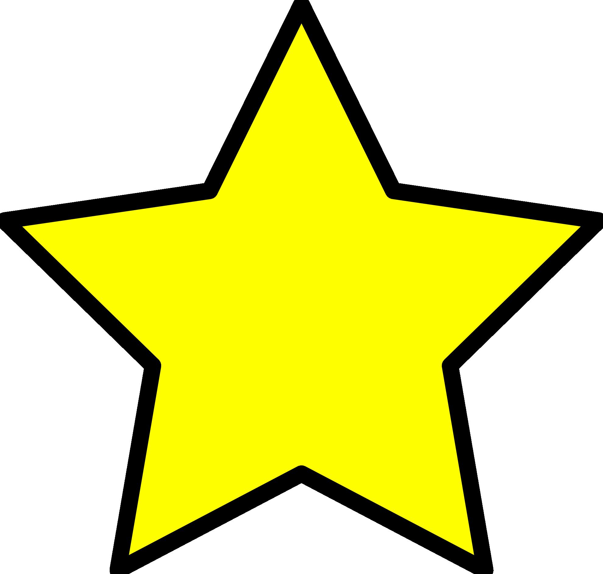 Falling Stars clipart yellow star Yellow Star Bus Clipart Star