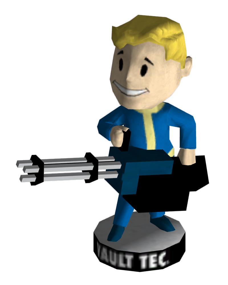 Fallout clipart big boy Big Bobblehead Fallout Bobblehead powered