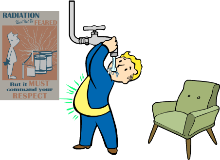 Radiation clipart fallout Belly Wikia powered Fallout Fallout