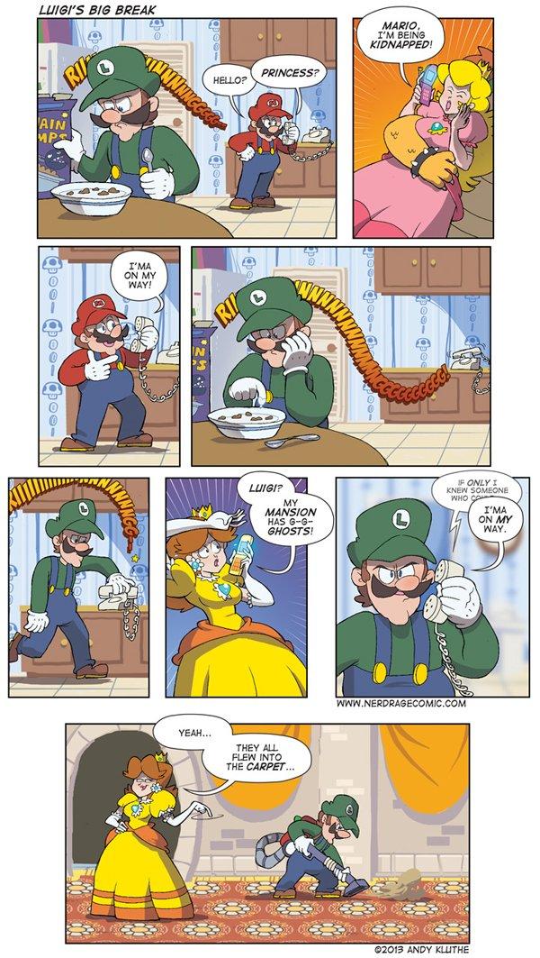 Fallout clipart nerd rage Luigi's Rage: Image 1 Post