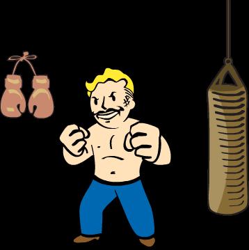 Fallout clipart nerd rage Wikia 3 Wiki FANDOM Fist
