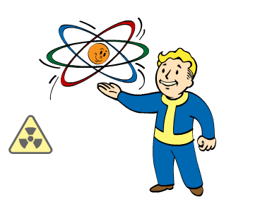 Radiation clipart fallout Nuclear Wikia Physicist FANDOM by
