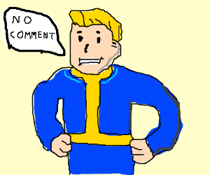 Fallout clipart pib No from (drawing from guy
