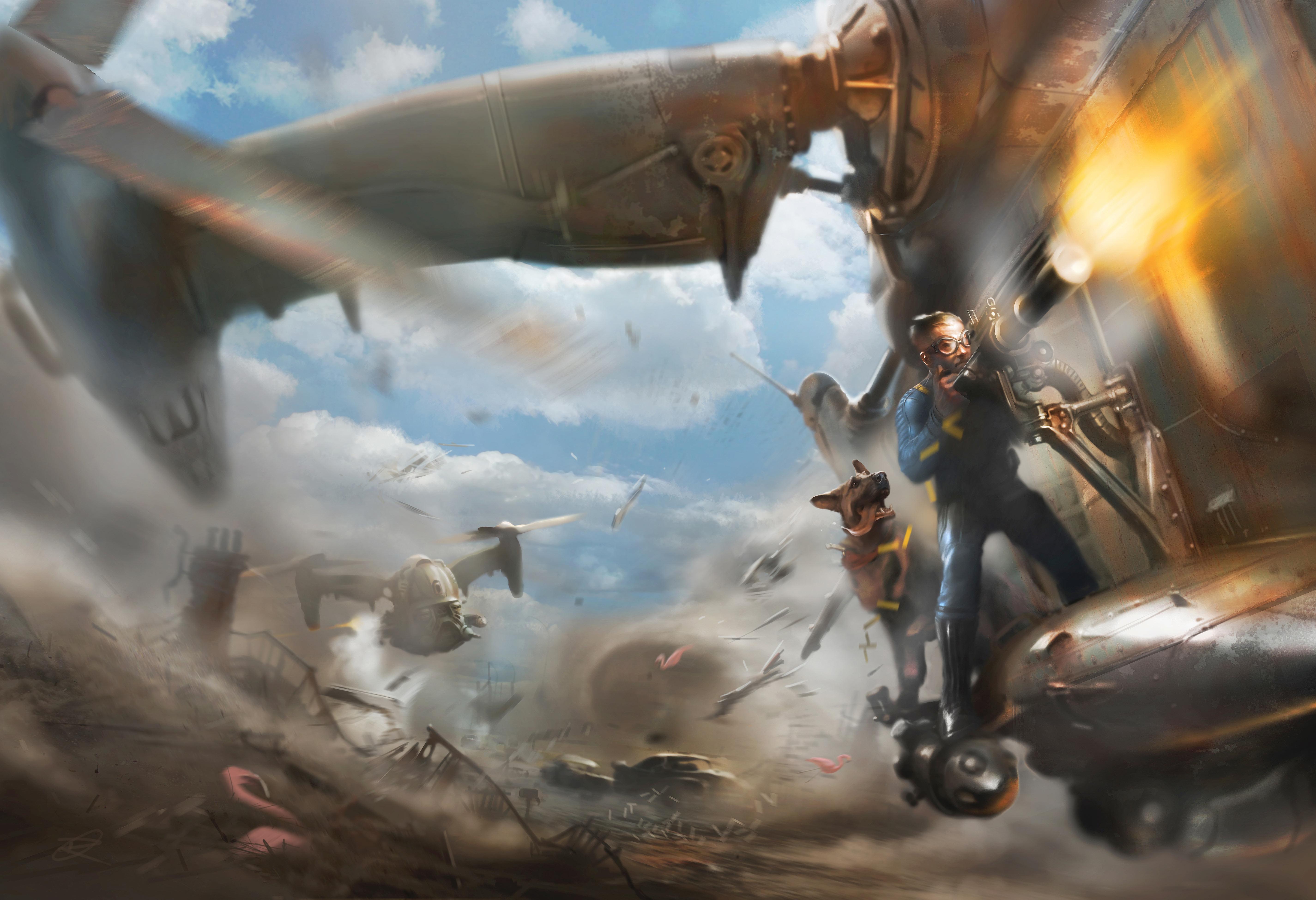 Fallout clipart pib (PC/PS4/XB1) (Vive) Fallout 4 VR