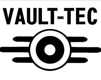 Fallout clipart vault tec Tec Vault Vault Minutemen Decal