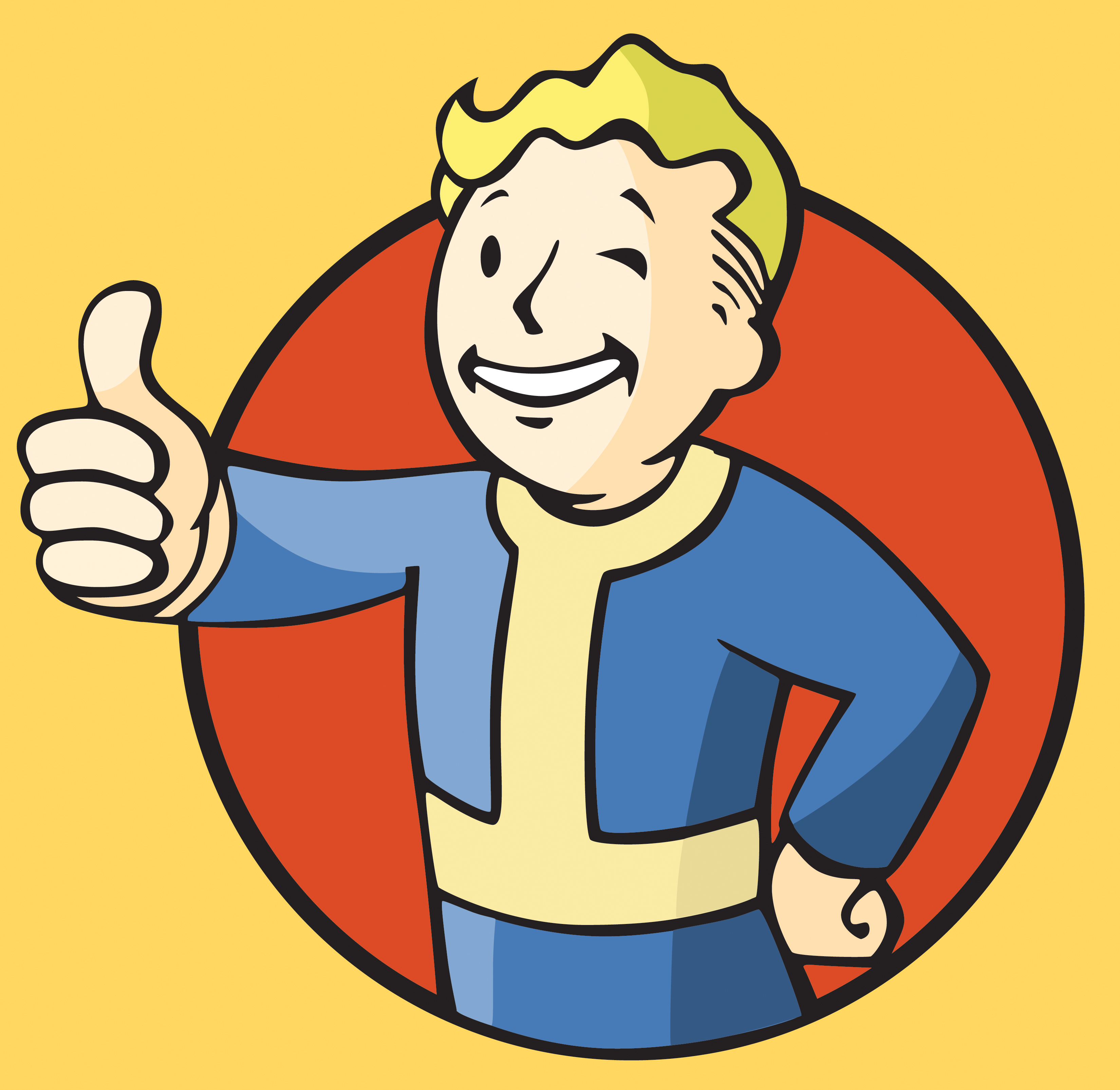 Fallout clipart vault tec Fallout clipart boy 3 vault