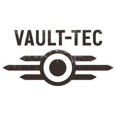 Fallout clipart vault tec Sticker Fallout Vinyl Stickers Tec