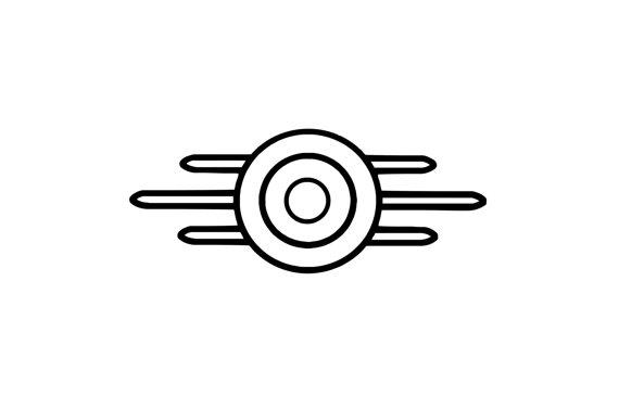 Fallout clipart vault tec **Christmas clipart tec Logo from