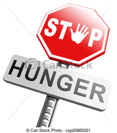 Famine clipart hunger Stop Stock Illustration Art starvation