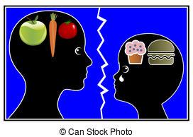 Famine clipart bad eating habit A Food Illustration of knife