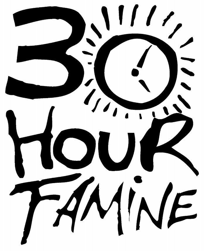 Famine clipart black and white Images Hour participates famine 30