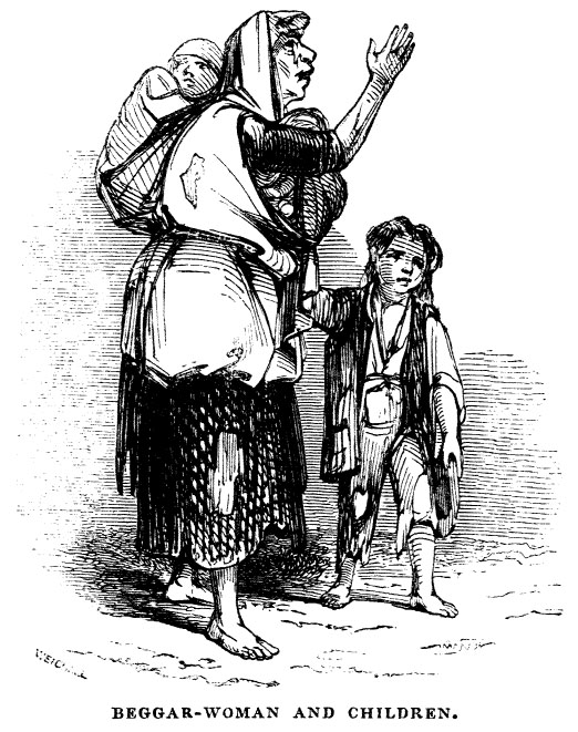 Famine clipart child begging Beggar Children Views of Famine