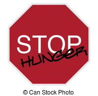 Famine clipart hunger Stop stop sign Art starvation