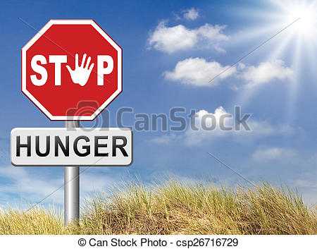 Famine clipart malnutrition Stop Illustration Art  hunger