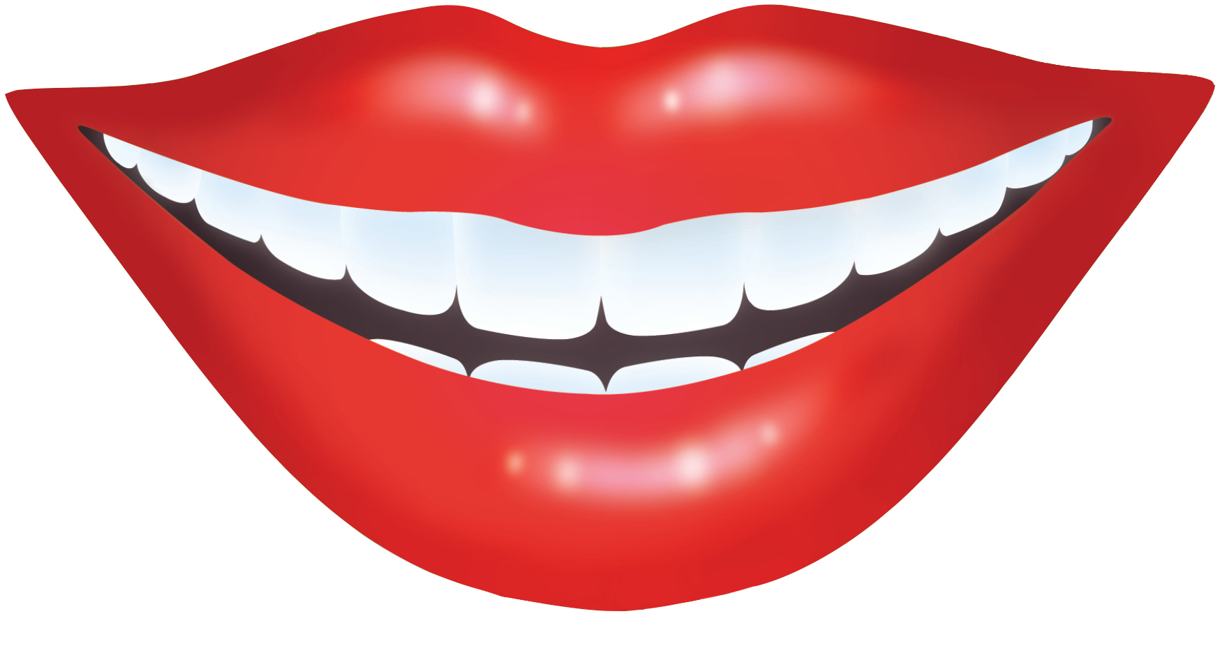 Teeth clipart smiley mouth Teeth Smile View of clipart