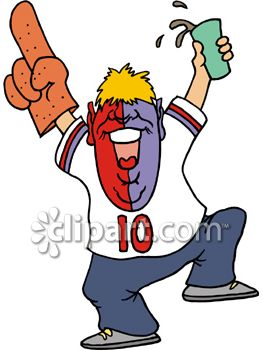 Supporters clipart politician speech Clipart cliparts Fan Football Fans