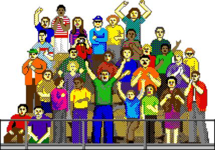 Fans clipart audience applause Fans Cheering Fans – Cheering