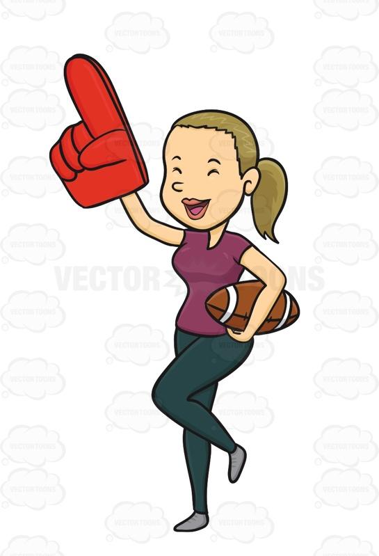Sport clipart finger Woman A Sports Clipart Finger