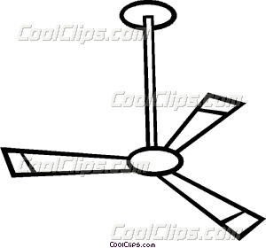 Ceiling clipart black and white Fan Vector Ceiling art Ceiling