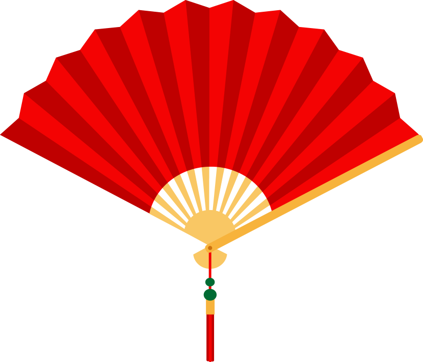 Oriental clipart parasol Clip Chinese art new fan