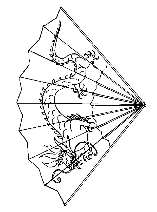 Fans clipart coloring page Year coloring 7 new best