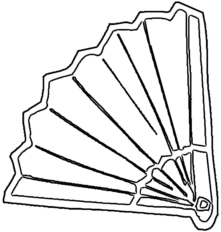 Fans clipart coloring page Pin and more this Coloring