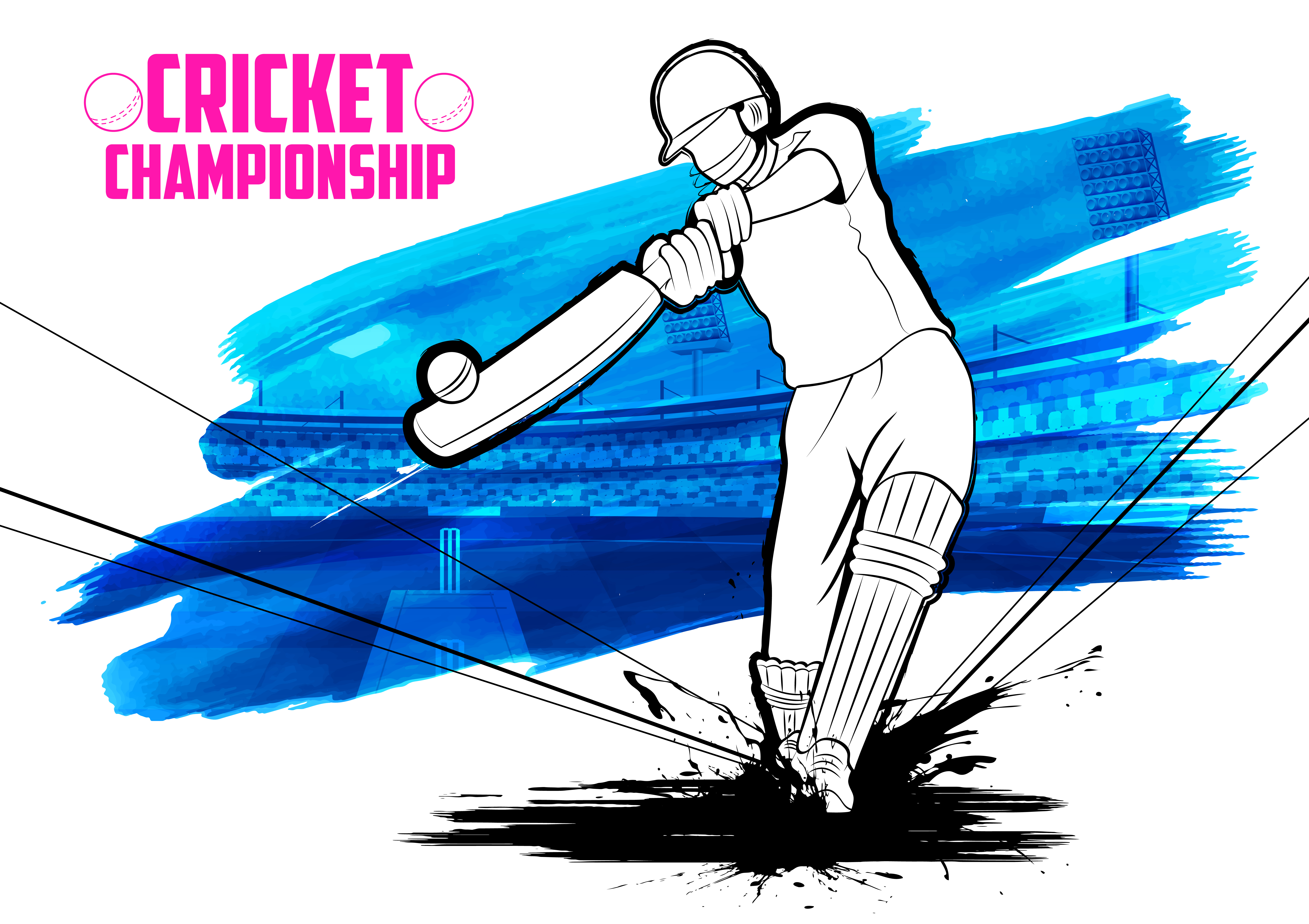 Fans clipart cricket team Cricket in When talk about