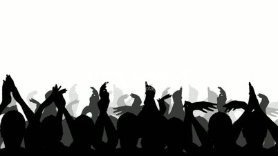 Fans clipart crowd applause Else Download Cheering – Clipart