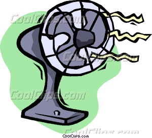 Fans clipart electri Electric Clip fan fan Vector
