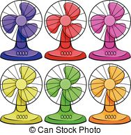 Fans clipart electri Fan of Layered Fans Electric