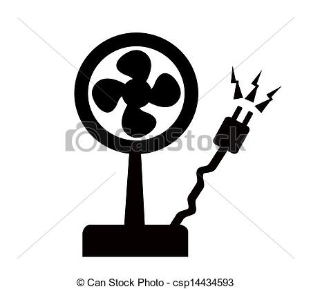 Fans clipart electrict Vector of EPS Electric vector