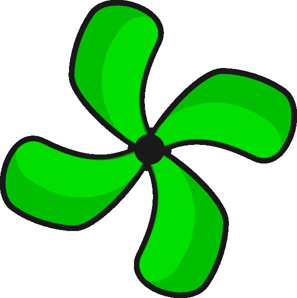 Ceiling clipart elesi Fan clip Clip Clker Green
