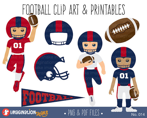 Fans clipart football party Team Art / Printables /