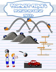 Fans clipart kinetic energy Physics Life: Potential Energy and