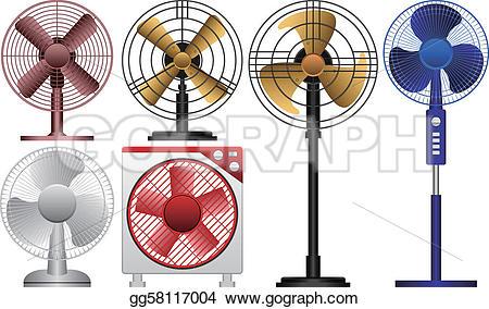 Fans clipart mechanical energy Gg58117004 Illustration of fan vector