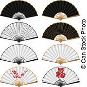 Fans clipart oriental  Fan free Art illustration