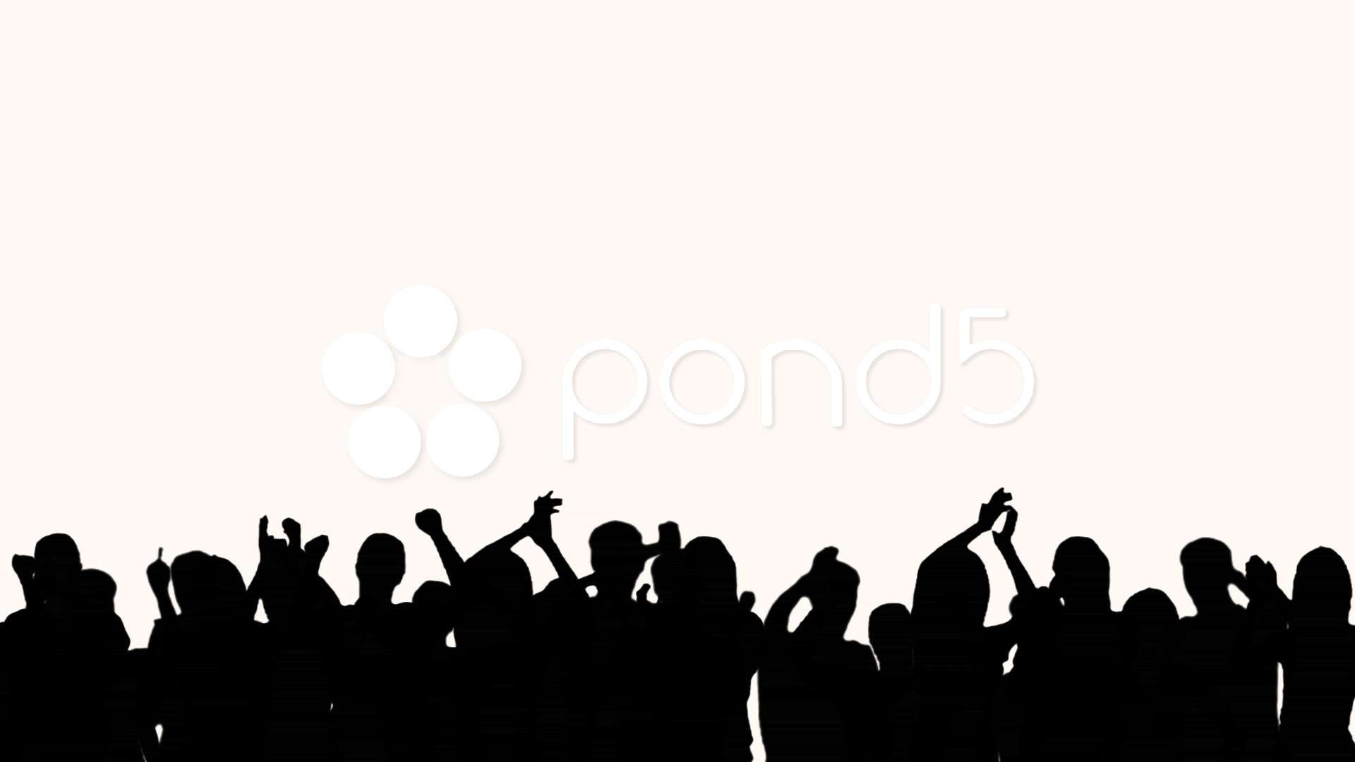 Drawn crowd Free Clipart Of Silhouette Images