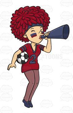 Fans clipart sports team Soccer Train Horn Team Wearing