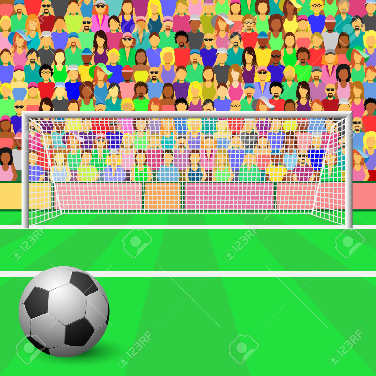 Stands clipart sport crowd Stadium Clipart cliparts Crowd Stadium