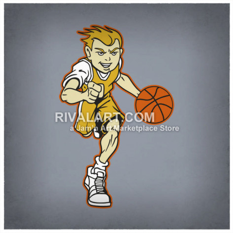 Fans clipart team player Team Clipart Basketball Graphics Dribbling