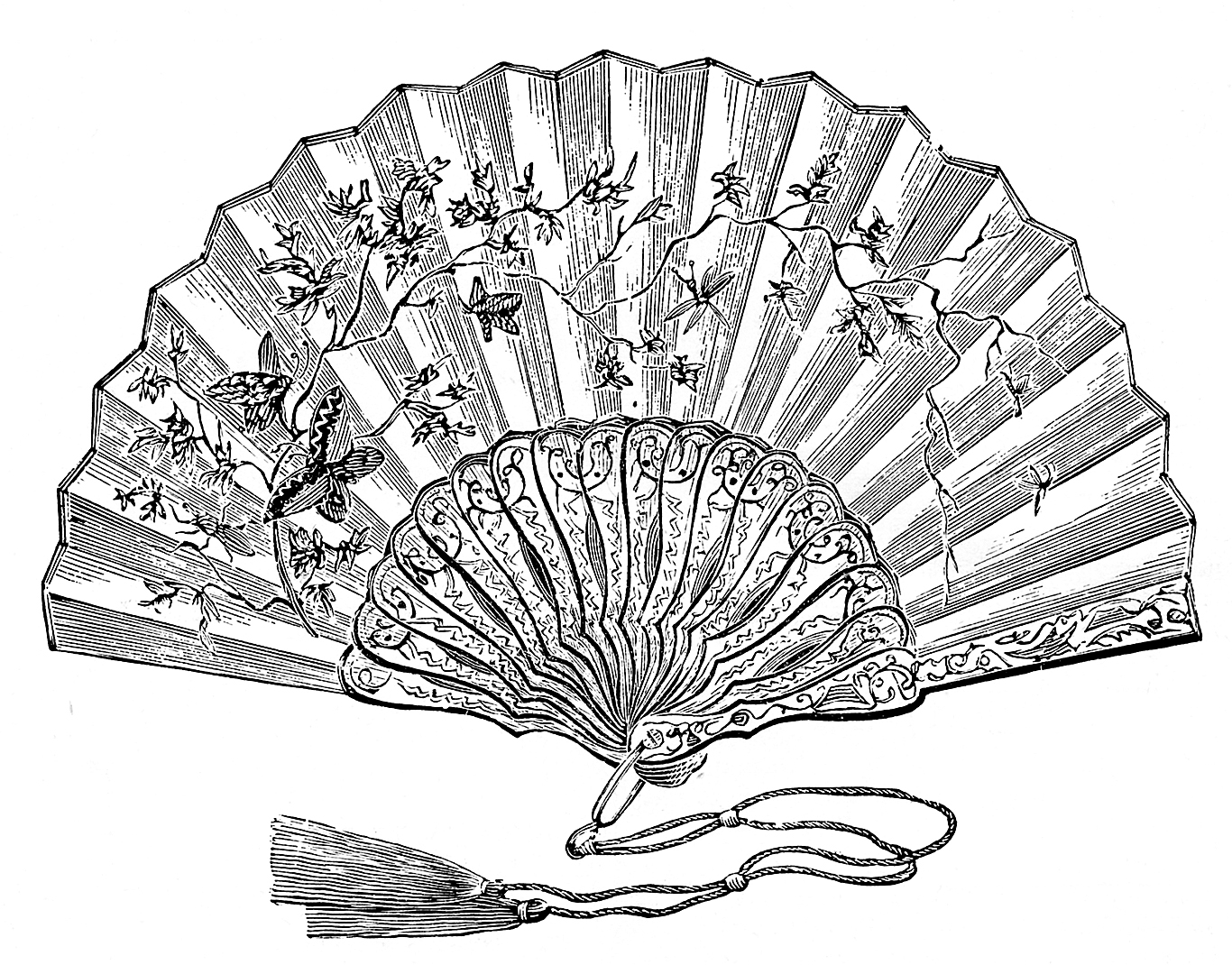 Fans clipart victorian Fans! Ladies chapter the Clip