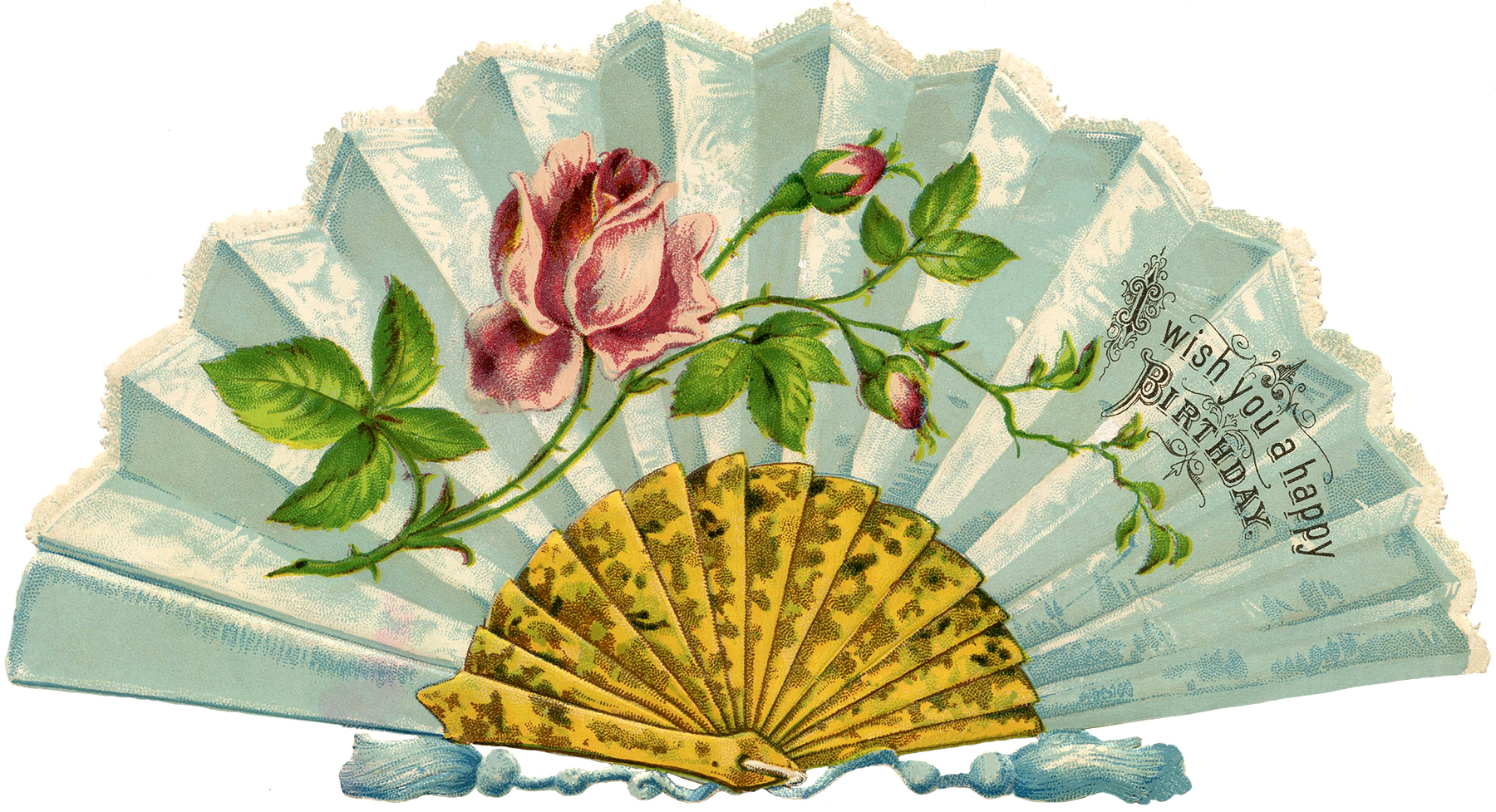 Fans clipart victorian Pretty! Fan Image Victorian The