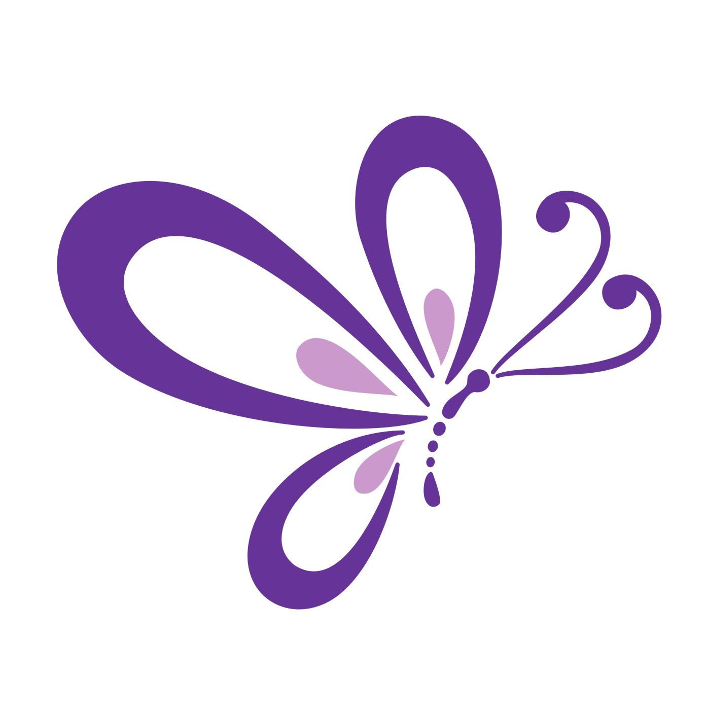 Beautiful clipart purple butterfly Fans Photo of for