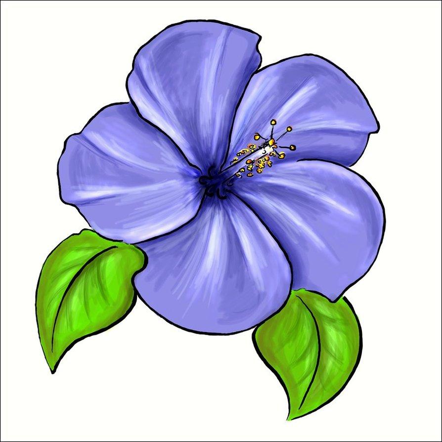 Fans clipart violet Violet #69 66 violet flower