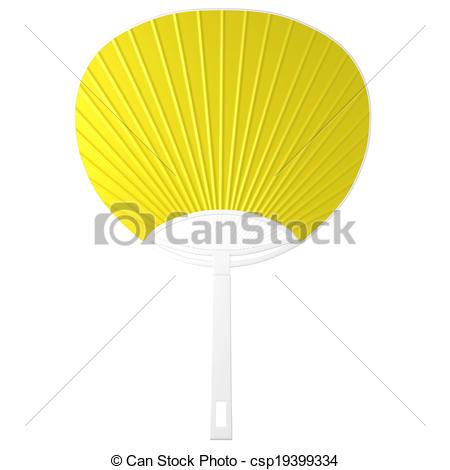 Fans clipart yellow object Fan The Fan 3d objects